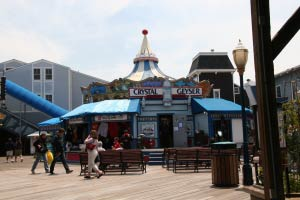 Pier 39, Fishermans Wharf, San Francisco, Kalifornien