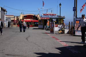 Old Fishermans Wharf, Monterey, Kalifornien